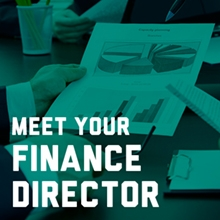 Meet Your Finance Director promotion