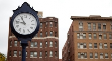 Foggy Bottom Campus, clock image